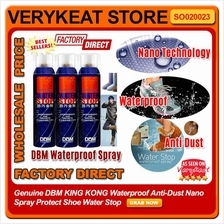 Genuine DBM Waterproof Anti-Dust Nano Spray Protect Shoe Water Stop