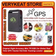 Original TK102B Car Global Real Time GPS Tracker Kid Kids Tracking