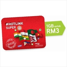 Malaysia Hotlink Prepaid Card Super IDD Pack Good Number 011-2