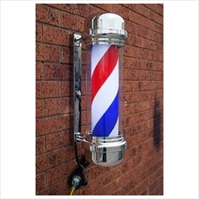 Quality Rotating Barber Lamp / Barber Pole - L Size