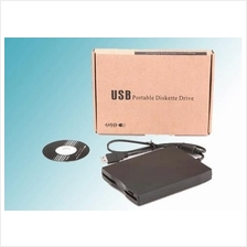 USB 2.0 EXTERNAL FLOPPY DISKETTE DRIVE (NEW IN BOX)