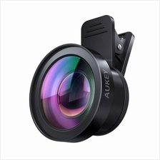 AUKEY PL-WD06 Ora Lens Kit 2 in 1 Clip On with 0.45X Wide Angle + 15X Macro Le