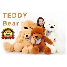 Teddy Bear 0.6 0.8 1.0 1.2 1.6 Meter With Gift Packaging (Free Card)