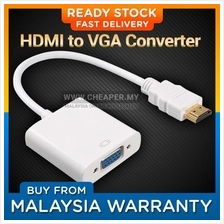 HDMI to VGA Converter Adapter Cable Option with Audio Port