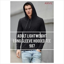 Anvil Lightweight Hooded Tee Shirt