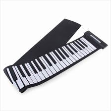 MD88S USB MIDI ROLL UP PINAO KIT WITH 88 KEYS (WHITE AND BLACK)