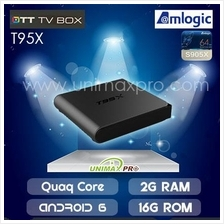 T95X TV BOX S905X Quad Core 1GB/2GB Ram 8GB/16GB Rom Android 6