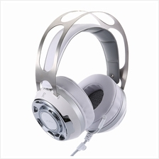 VIRTUAL SURROUND SOUND USB GAMING HEADSET WITH MICROPHONE LED LIGHT (WHITE)
