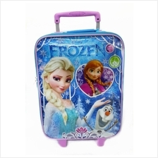 DISNEY FROZEN WINTER 16inch LUGGAGE BAG * Genuine licensed