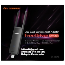Comfast 1200Mbps 11AC 2.4G & 5.8G dual frequency wireless adapter