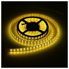 5M DOUBLE ROW 5050 SMD 600 RGB WHITE STRIP LIGHT WATERPROOF LED FLEXIBLE LAMP