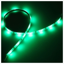 4.5V 0.5M SMD5050 LED WATERPROOF STRIP LIGHT WITH BATTERY BOX (GREEN)