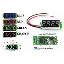 "0~50V DC 4 Digit Precision voltage meter Voltmeter 0.36"" Digital LED 5V 12V 24"