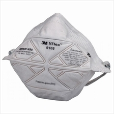 3M 9105 Anti Haze Respirator Disposable Face Mask V-Flex N95 50pcs/box
