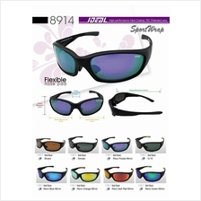 862f768f59c9 IDEAL - Sports Wrap Polarized Sunglasses for Men - Model 8914