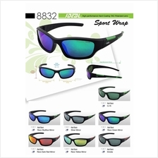 dccb0e68aa1d IDEAL - Sports Wrap Polarized Sunglasses for Men - Model 8832