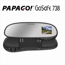 PAPAGO! GOSAFE 738 CAR DASH CAMERA DIGITAL CAMCORDER