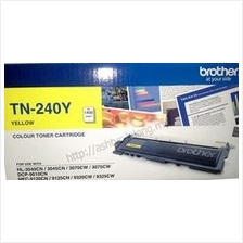 GENUINE BROTHER TONER TN-240Y (YELLOW) *SEALED*NEW*