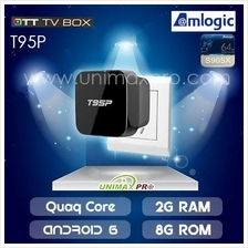 T95P TV BOX S905X Quad Core 2GB Ram 8GB Rom Android 6