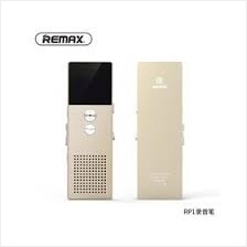 REMAX 8GB DIGITAL VOICE RECORDER (RP1) GOLD