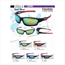 c0d4cfdb9199 IDEAL - Sports Wrap TAC Polarized Sunglasses - Model 8964