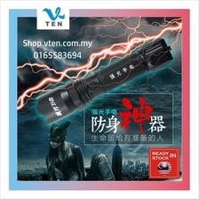LED Flashlight Torschlight With Stun Gun Electric Shock Safe Products