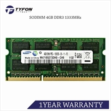 Samsung M471B5273DH0-CH9 SODIMM 4GB DDR3 1333MHz PC3-10600 Laptop RAM (Refurbi