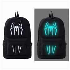 Backpack Luminous Safety Reflective School Sports Bags (Spiderman Logo)
