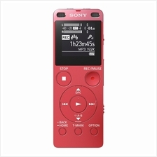 SONY 4GB DIGITAL VOICE RECORDER WITH CARD SLOT (ICD-UX560F) PINK