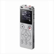 SONY 4GB DIGITAL VOICE RECORDER WITH CARD SLOT (ICD-UX560F) SILVER