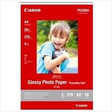CANON PHOTO GLOSSY A4 PAPER FOR INKJET GP-601 (20SHEETS)