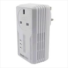 AZTECH WIRED W/AC PASS THROUGH SINGLE 600MBPS HOMEPLUG (HL119EP)