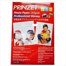 PRINZET A3 2880DPI GLOSSY PHOTO PAPER 265GM (20SHEET)