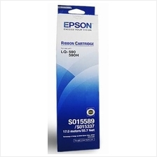GENUINE EPSON INK RIBBON FOR LQ-590 LQ-590H (S015589)