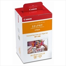 CANON 4R FOR SELPHY CP SERIES RP-108 PAPER/INK SET (108SHEETS)