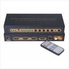 SAROWIN SWITCH HDMI 3 IN TO 1 OUT WITH AUDIO (HDSW0003M1)