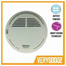 DeHumo™ Fire Smoke Detector Sensor Home Alarm [No Drill Needed]