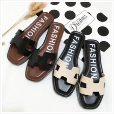 Women H Design Casual Flat Slipper (3 Color) MT021677