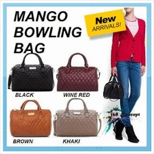 Mango MNG Quilted BOWLING Sling Hand Bag (B-0021)