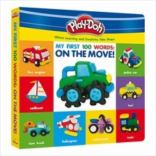 Play-Doh Deluxe Board Book: My First 100 Words: On The Move!