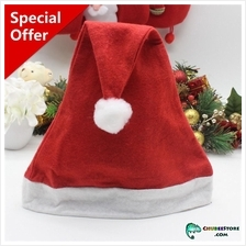 Red Christmas/Xmas/wedding/party/cosplay Santa Claus hat-free size