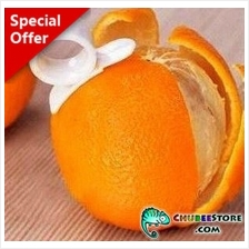 Single ring mandarin orange fruit skin peeler/remover/slicer/cutter