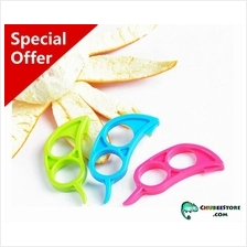 Mini mouse citrus mandarin orange fruit skin peeler /remover /slicer