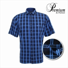 PREMIUM BIG SIZE Checked Fine Cotton Shirt PMP8197