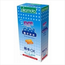OKAMOTO DOT DE COOL CONDOM 10s (Cool Feel With Dotted)