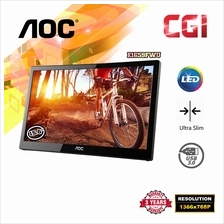 AOC 15.6' E1659FWU Ultra Slim Portable LED Monitor