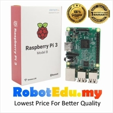 Raspberry Pi 3 Model B 1GB RAM WiFi BLE 100% Original Genuine Warranty