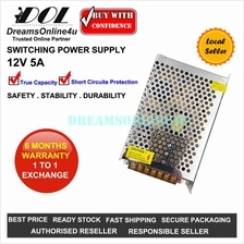 12V 5A 60W Full Rated Switching Power Supply CCTV DVR Security LED