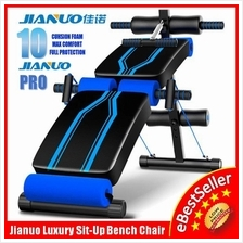 Jianuo PRO 10 Cushion Foam Gym Sit Up Bench Six Pack ABS Workout Bench