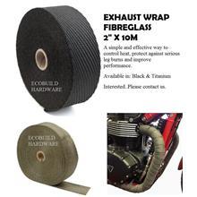 EXHAUST WRAP - FIBREGLASS
